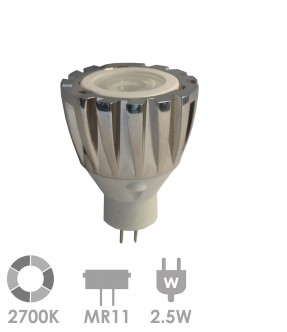 MR11 LED 2.5W Warm wit