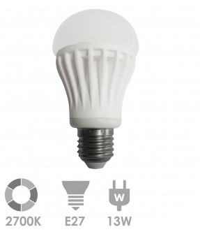 E27 LED 13W Warm wit