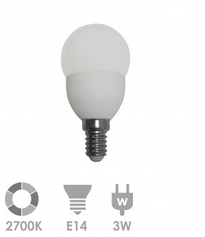 E14 LED 3W Warm wit