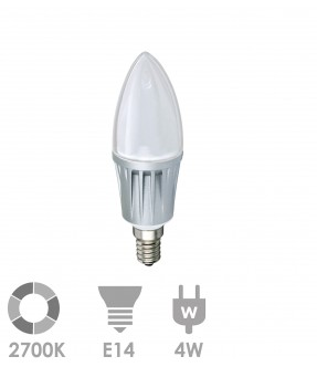 E14 LED 4W Warm wit