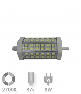 R7s LED 8W Warm wit