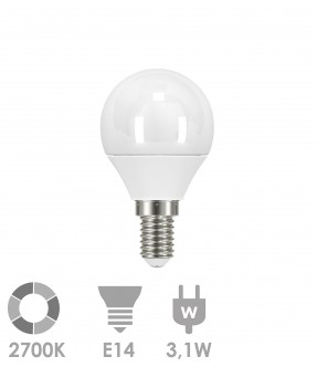 E14 LED 3,1W Warm wit
