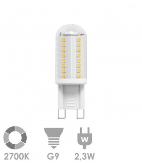 G9 LED 2,3W Warm wit